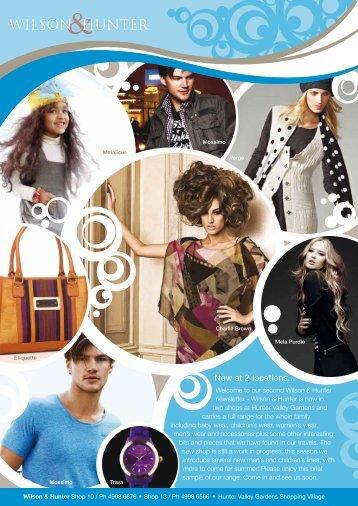 Wilson & Hunter Winter newsletter - Zen Hair Skin Body