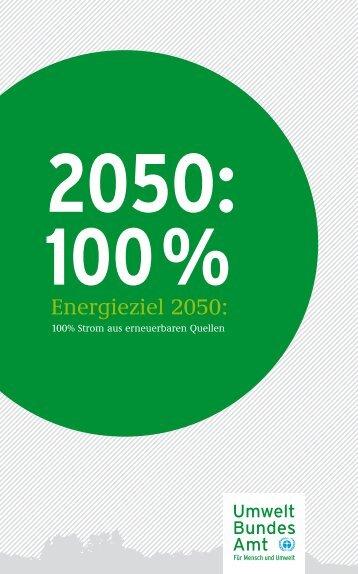 Energieziel 2050 - Umweltbundesamt