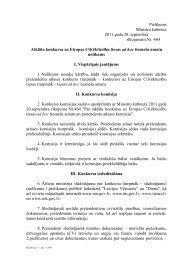 Konkursa nolikums un CV paraugs - Latvijas Republikas Ārlietu ...