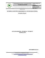 informe de auditoría gubernamental con enfoque integral