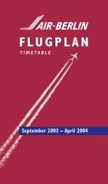 FLUGPLAN September 2003 – April 2004 - klner-wichtel-imb.de
