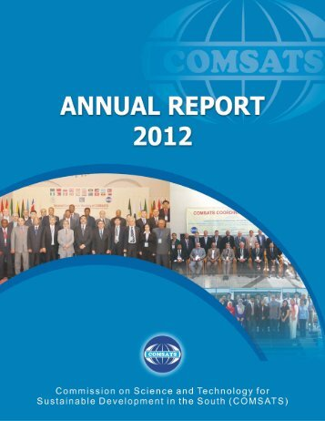 Annual Report 2012 - Comsats