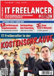 IT Freelancer Magazin Nr. 1/2012