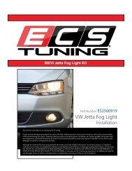 VW Jetta Fog Light - edoqs