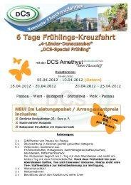 6 Tage Frühlings-Kreuzfahrt - DCS Touristik