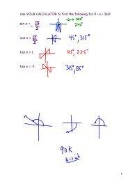 sin x = cos x = tan x = 1 tan x