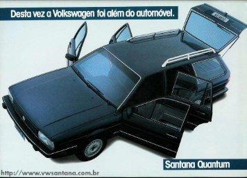 Santana Quantum CG - 1986 - VW Passat