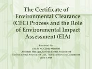 (eia)? - Environmental Management Authority
