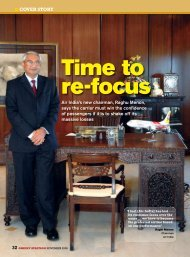 Time to re-focus - Orient Aviation