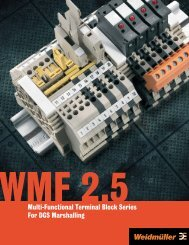 Multi-Functional Terminal Block Series For DCS Marshalling