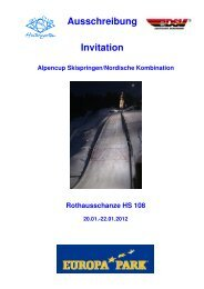 Alpencup: Skispringen - Skiclub Hinterzarten