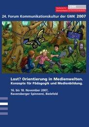 Lost? Orientierung in Medienwelten.