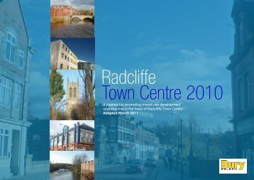 Radcliffe Town Centre 2010 - Urbed