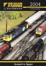 Graham Farish (Bachmann) 2004 Catalogue