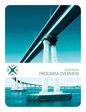 Download Program Overview Guide - CommNexus San Diego