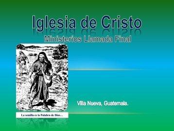 La regeneracion. - IGLESIA DE CRISTO - Ministerios Llamada Final ...