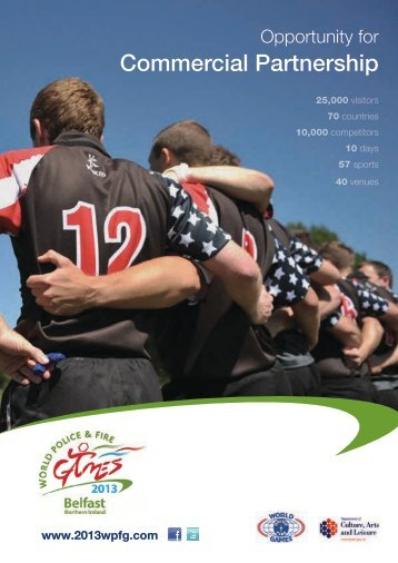 commercial opportunities brochure - World Police and Fire Games ...
