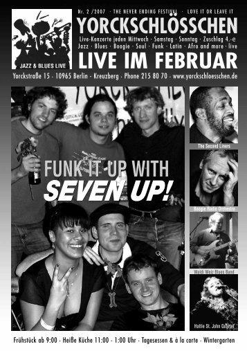 SEVEN UP! SEVEN UP! - Yorckschlösschen