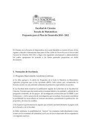 Matematicas - Universidad Nacional de Colombia