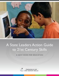 A State Leaders Action Guide to 21st Century Skills