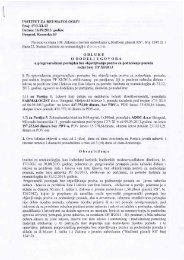 Одлука о додели уговора, редни број ПП - Institut za reumatologiju