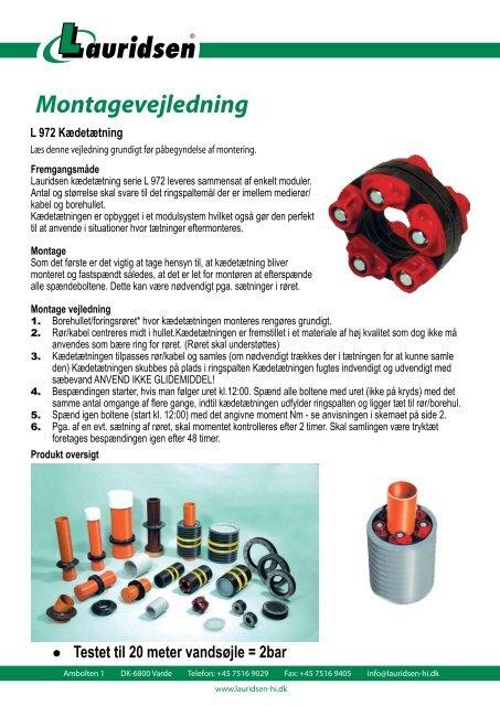 Kædetætning - Lauridsen Handel og Import A/S