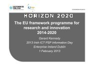 innovation - Seventh EU Framework Programme Ireland