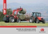 MF 3600 Series - AGROVOK-SERVIS, sro