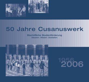 50 Jahre Cusanuswerk
