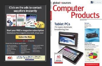 Tablet PCs - Index of