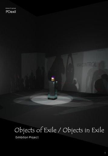 Objects of Exile / Objects in Exile - Poexil - Université de Montréal