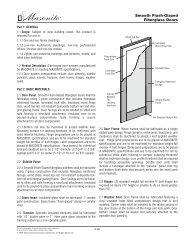 Smooth Flush-Glazed Fiberglass Doors - Masonite