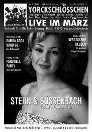 STERN & SÜSSENBACH - Yorckschlösschen