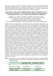 EFECTO DE LA APLICACIÓN DE PROGESTERONA ... - Syntex