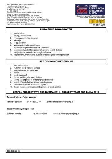 Pobierz zakres tematyczny - PDF - SPORT * REKREACJA ...