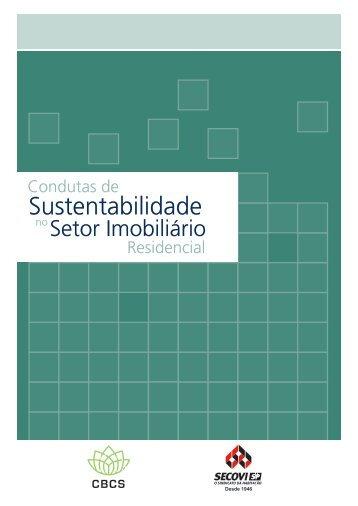 Condutas de Sustentabilidade no Setor Imobiliário - CBCS