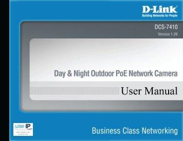 D-Link DCS-7410 User Manual - Use-IP