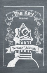 The Key 2013–2014 | 1 - Kutztown University