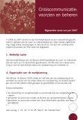 Crisiscommunicatie: voorzien en beheren - Fedweb - Page 3
