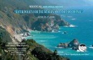 Conference Brochure, Agenda, and Registration Form