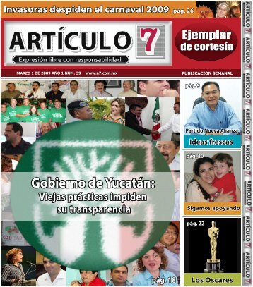 Publicación No. 39 - a7.com.mx