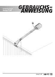 Keasy L /XL GEBRAUCHS- ANWEISUNG - Antriebe 24