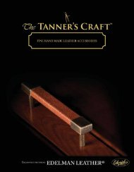 2010 tanners craft brochure – pdf - Hot2Cold