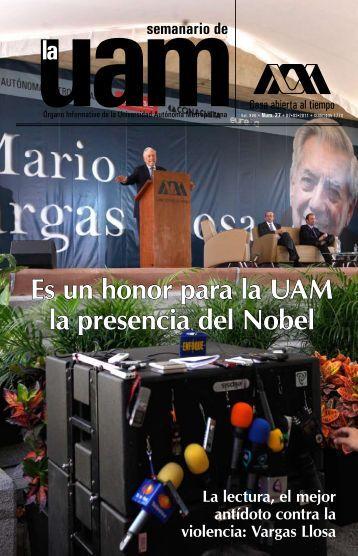 Es un honor para la UAM la presencia del Nobel