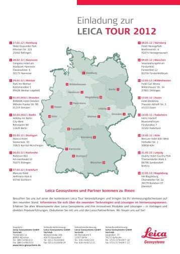 Einladung zur Leica Tour 2012 - Robust-pc.de