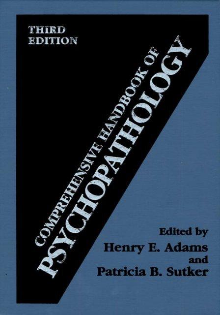 Array - comprehensive handbook of psychopathology  rh   yumpu com