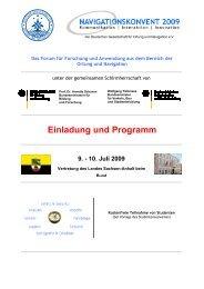 Einladung und Programm 9. - 10. Juli 2009