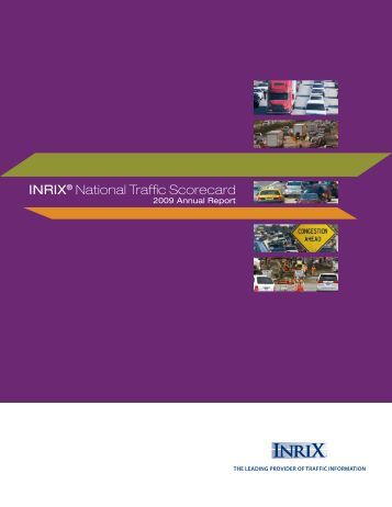 National Traffic Scorecard 2009 Annual Report - Pockets ...