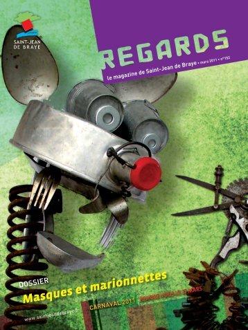 """""""Regards"""" 152, mars 2011 (pdf - 6,34 Mo) - Ville de Saint Jean de ..."""