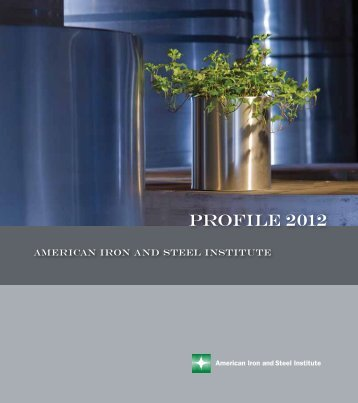 Profile 2012 - AISI - American Iron and Steel Institute